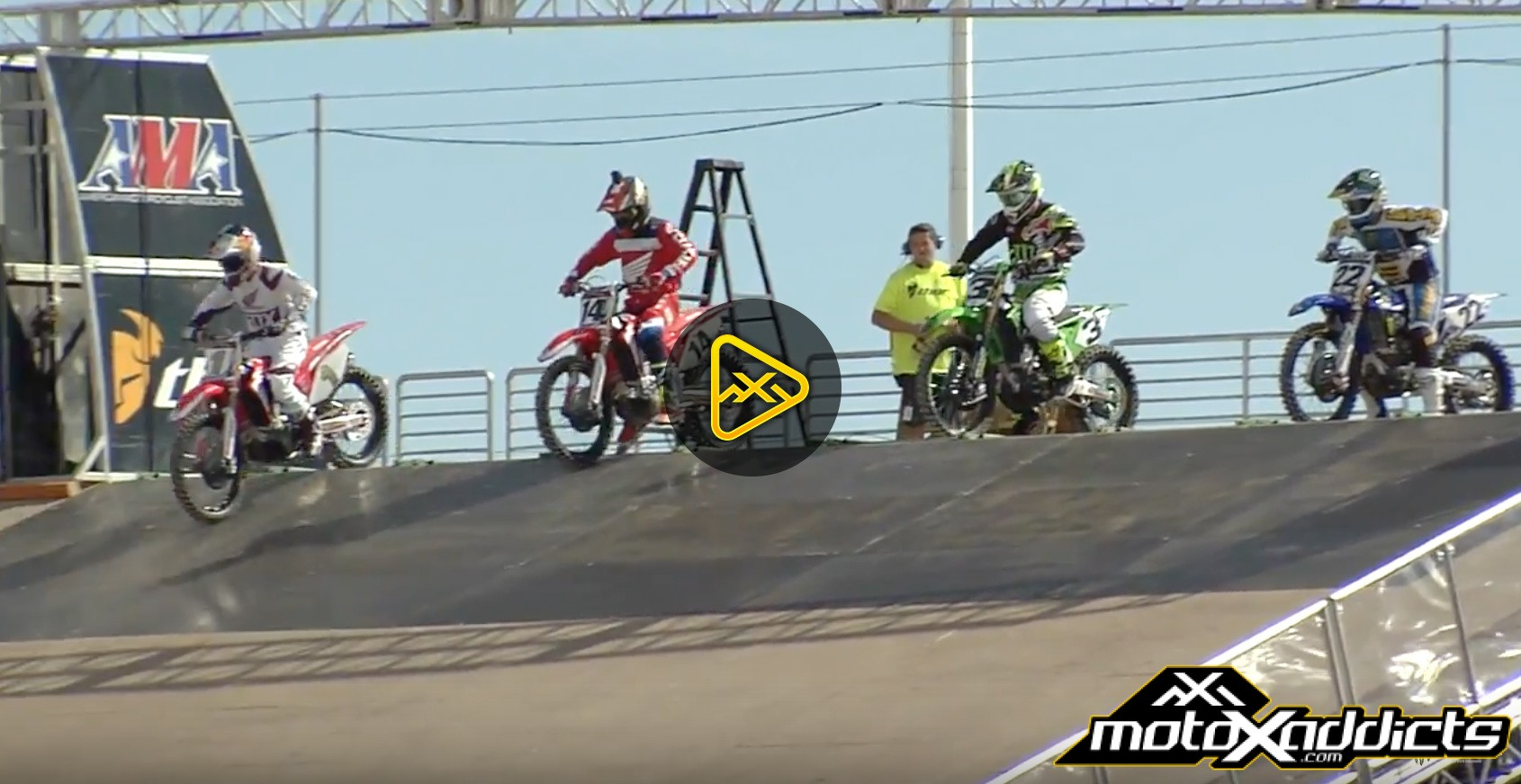 2016 Monster Energy Cup – Press Conference – Start Gate