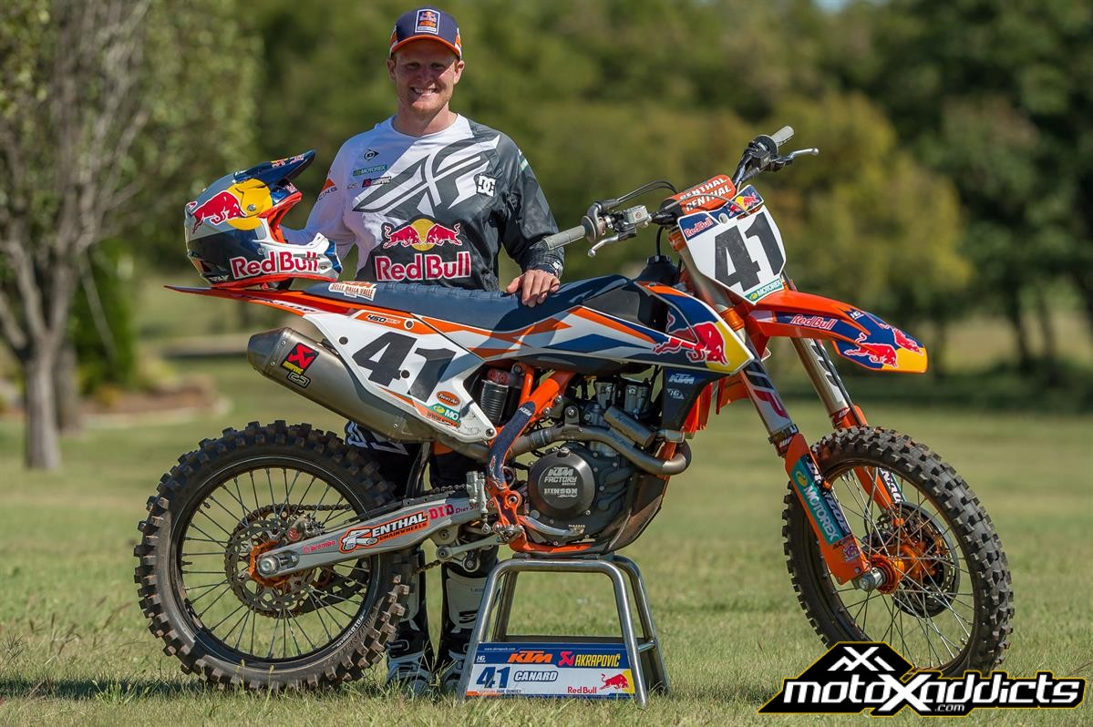 Trey Canard Signs with Red Bull KTM for 2017