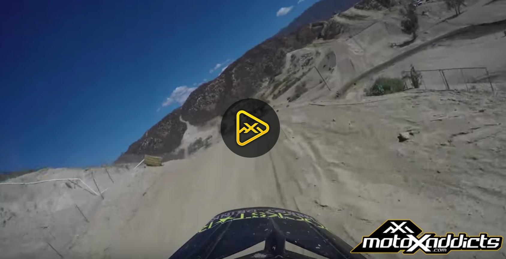 Helmet Cam: Aaron Plessinger at Glen Helen MX