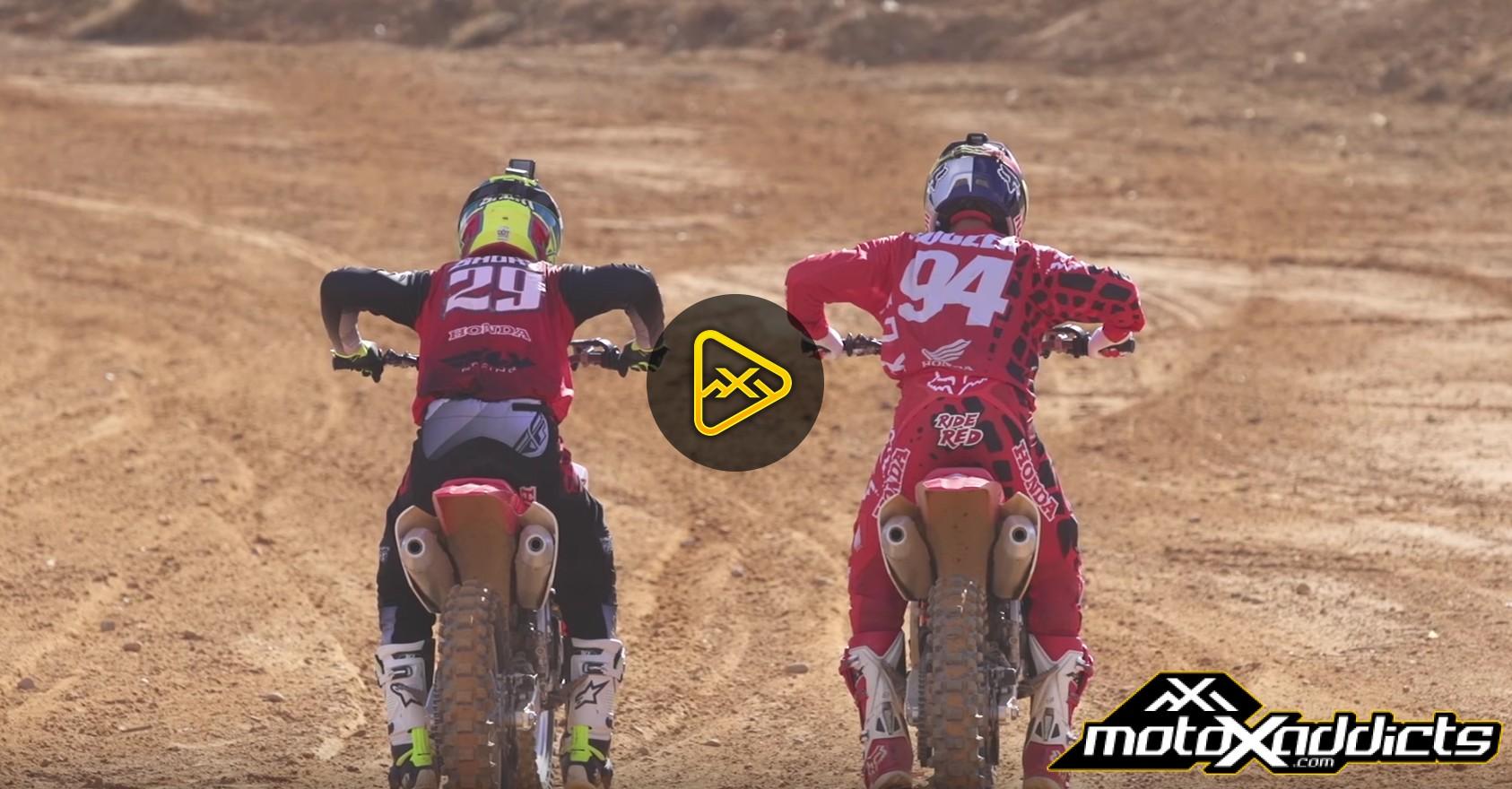 Helmet Cam: Ken Roczen vs. Andrew Short at Monster Mountain MX