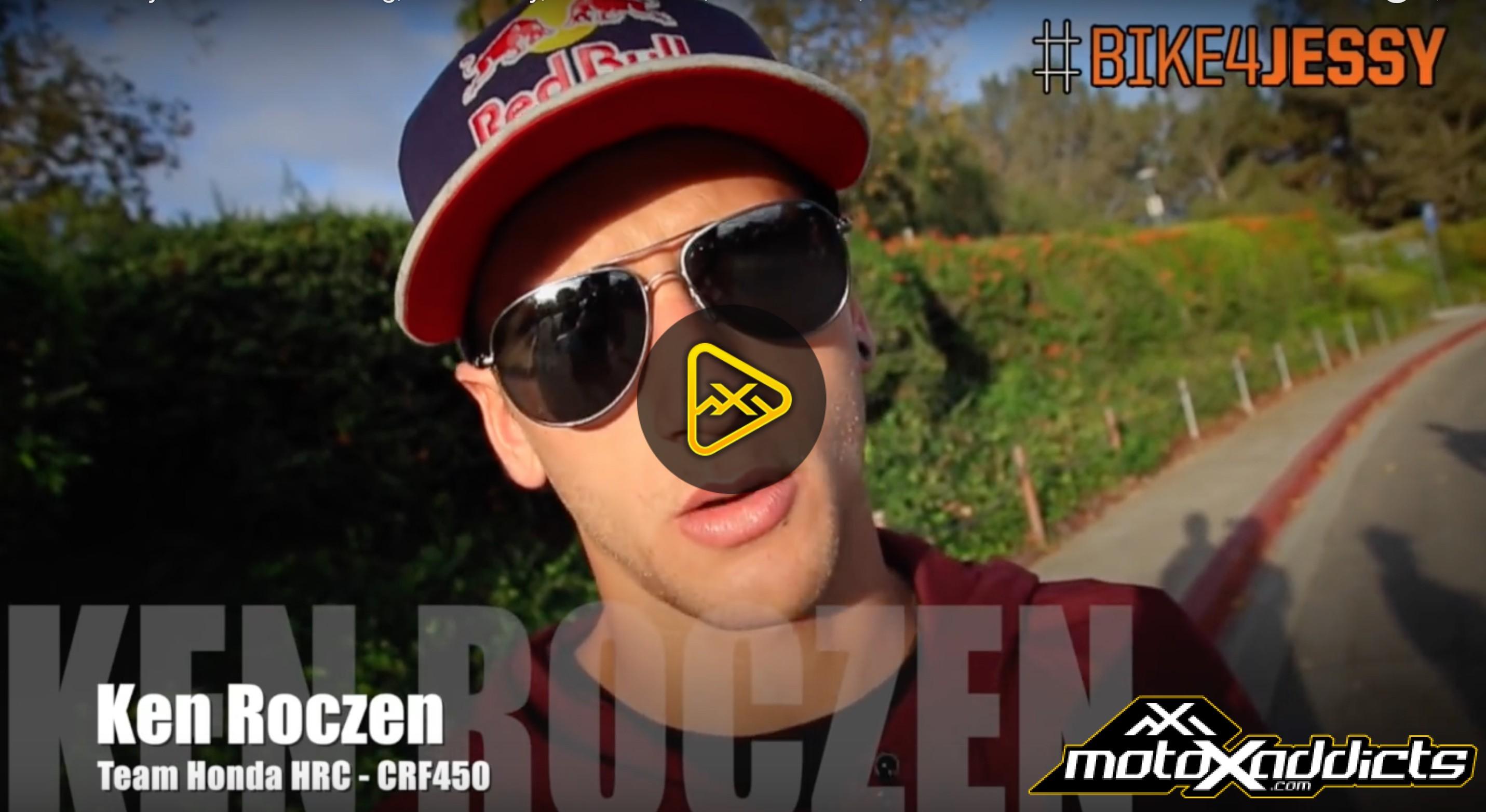 Bike4Jessy w/ Christian Craig, Cole Seely, Ken Roczen, Broc Tickle, Shane McElrath…