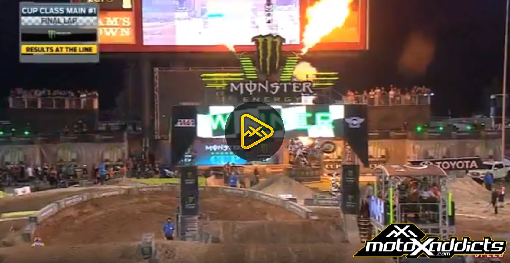 Main Event 1 Highlights – 2016 Monster Energy Cup