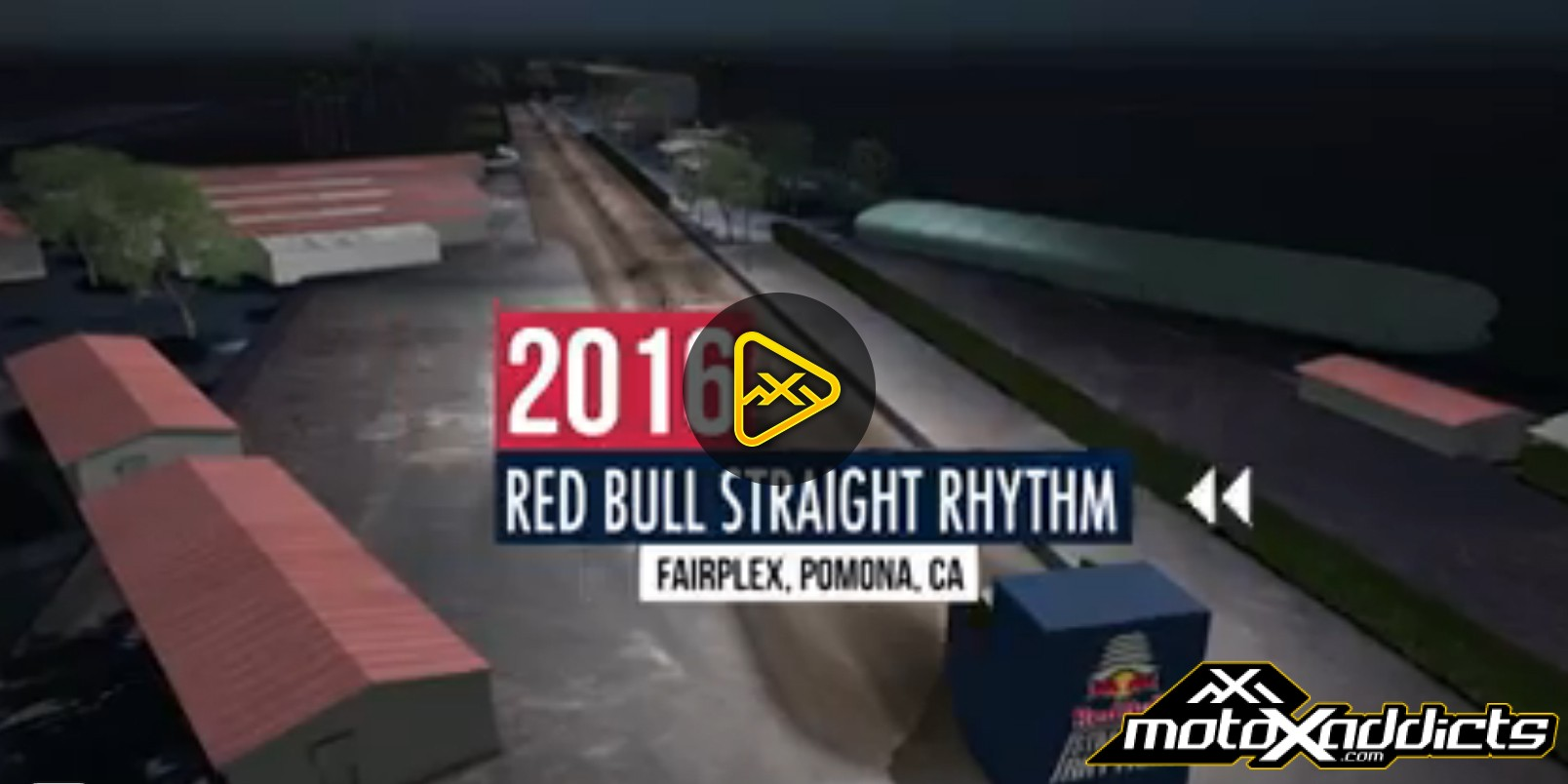 2016 Red Bull Straight Rhythm Animated Track Map
