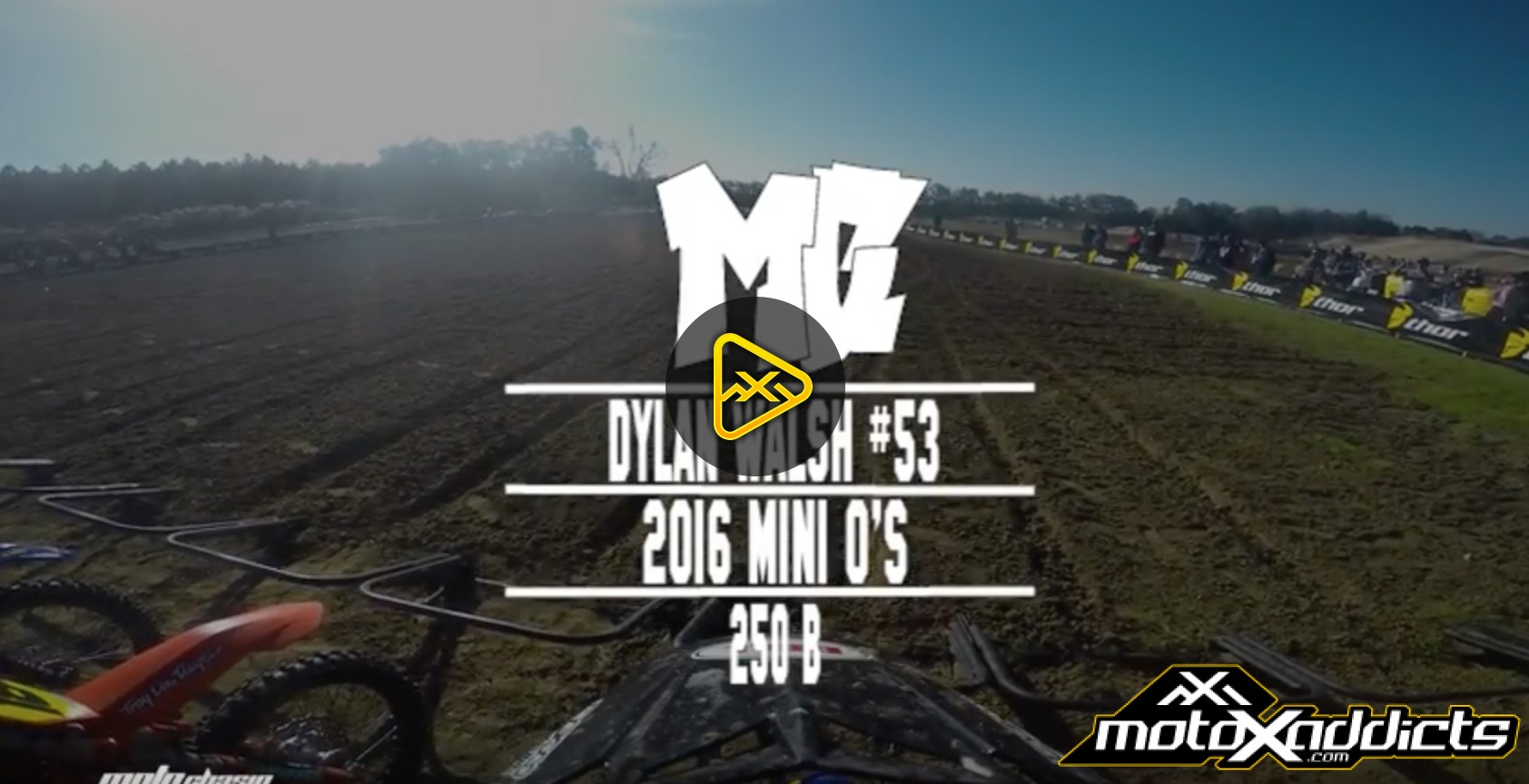 Helmet Cam: Dylan Walsh – Mini O's 250B – What Just Happened?