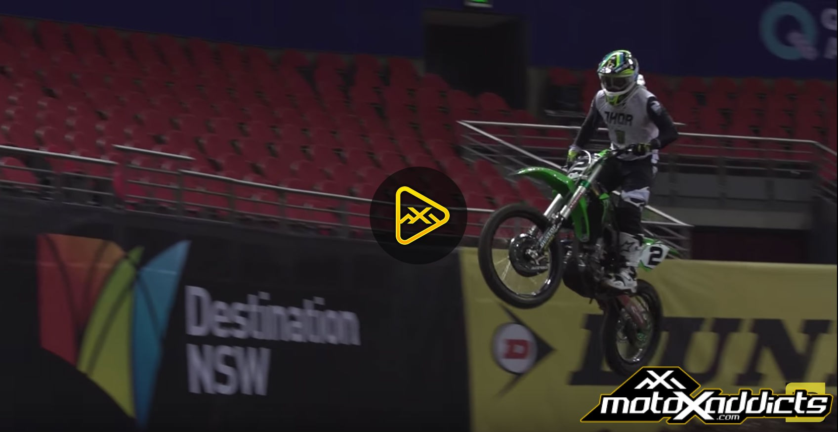 2016 AUS-X Open Press Day Highlights – Ft. Reed, Webb & Villopoto