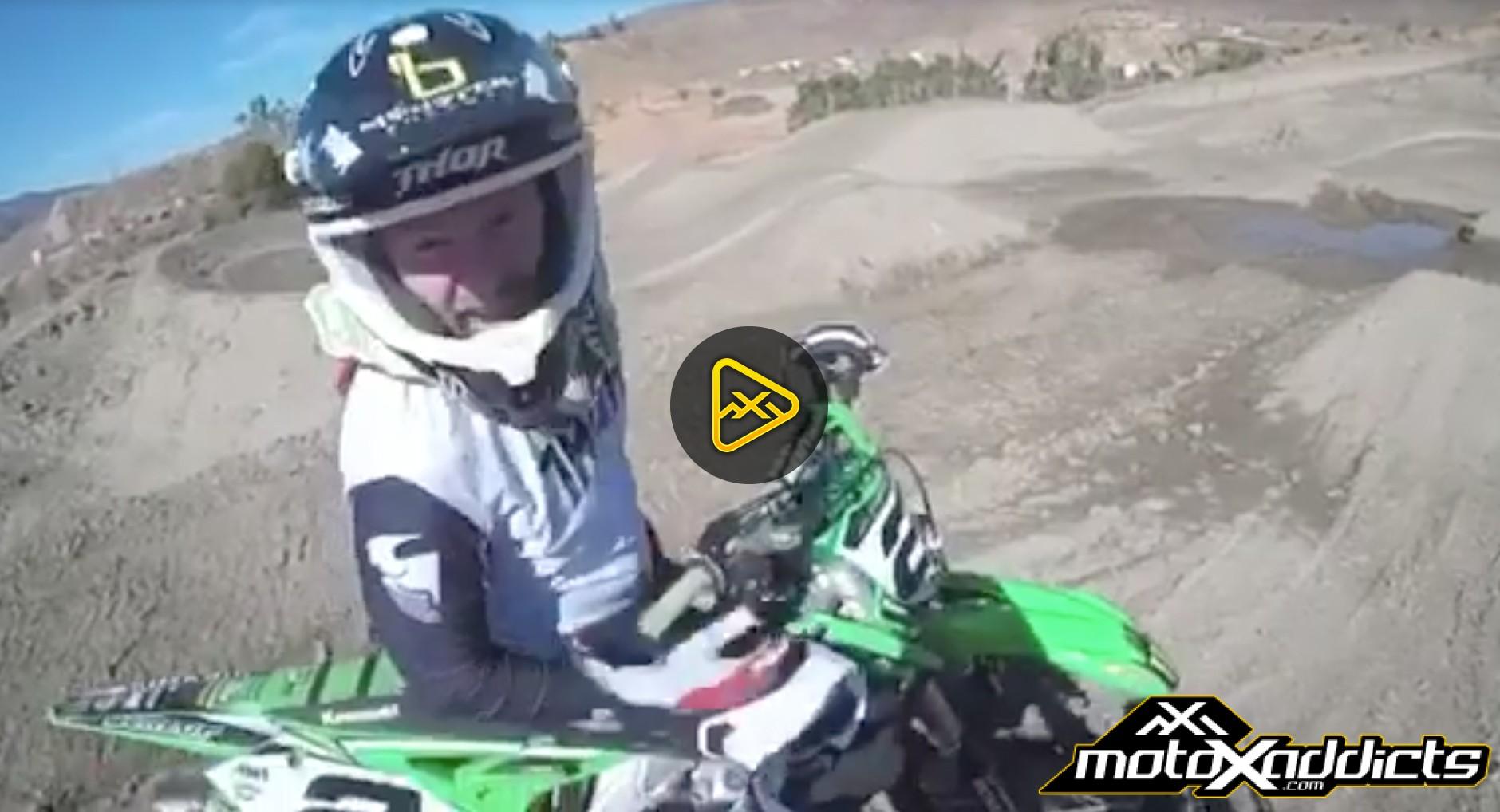 Helmet Cam: McElrath, Oldenburg, A. Martin and Ryan Villopoto