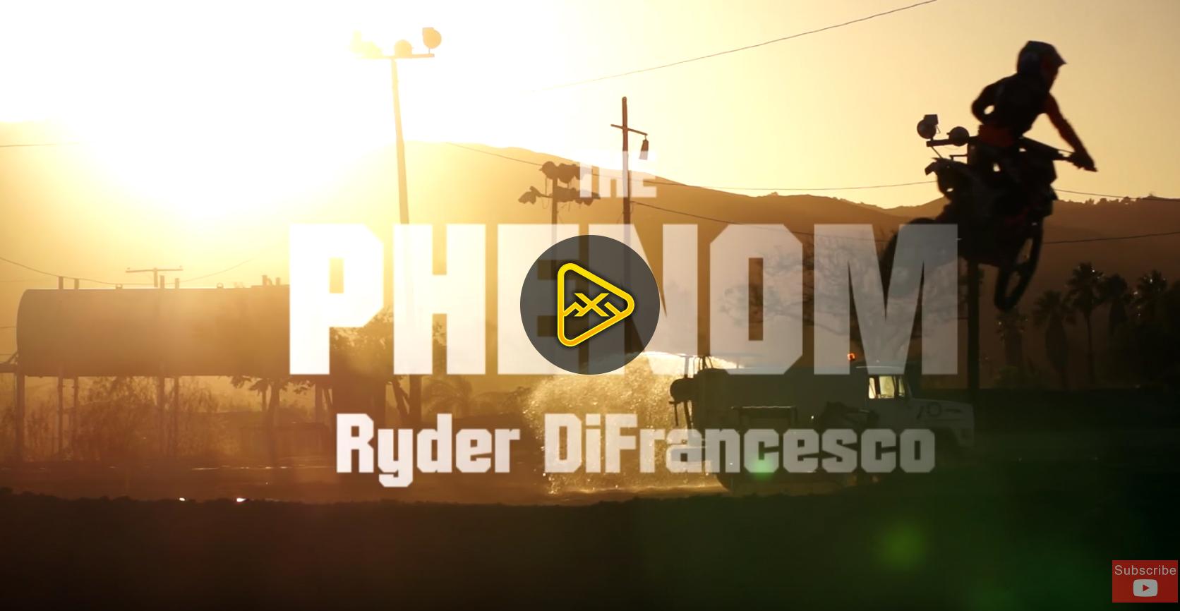 THE PHENOM – Ryder DiFrancesco