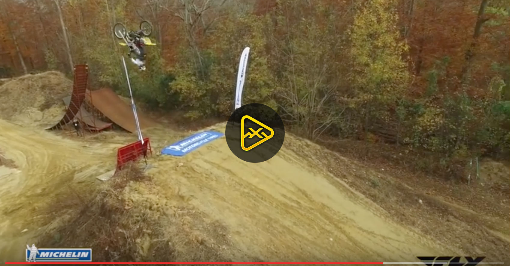 Flipping Dune Goon – Travis Pastrana Teaching Travis Marx to Flip