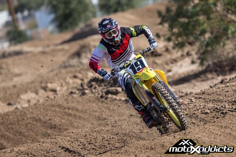 RCH/Yoshimura/Suzuki Factory Racing Sign Broc Tickle and Justin Bogle