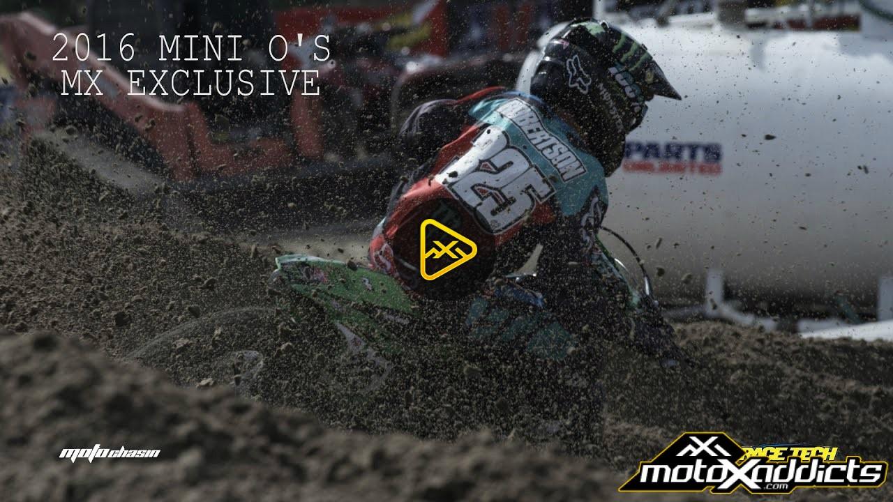 2016 Mini O's – Motocross Highlights