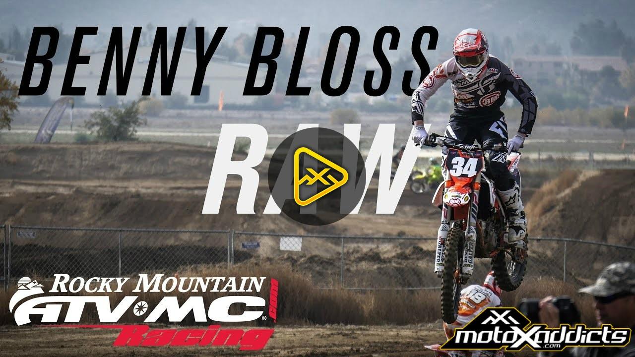 2017 Supercross Prep: Benny Bloss Raw