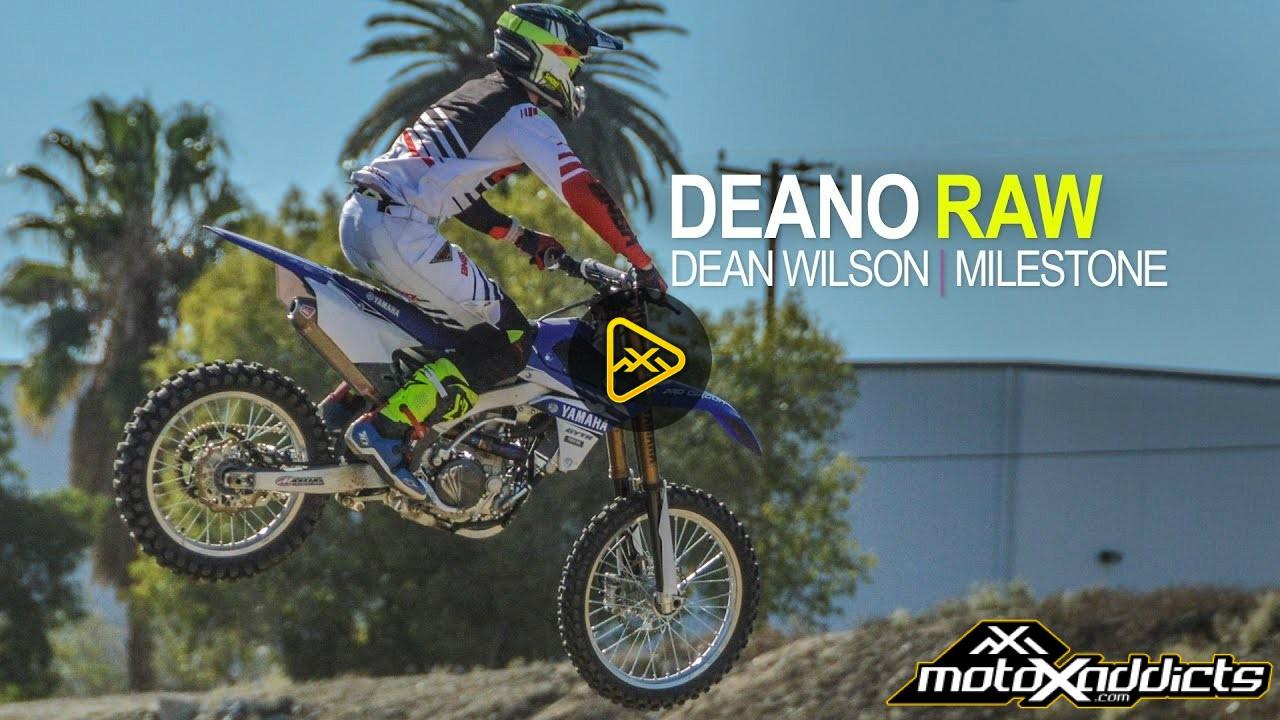 DEANO RAW   Dean Wilson at Milestone