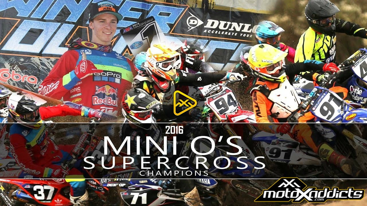 2016 Mini O's Supercross Champions