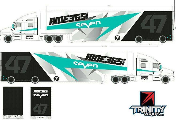 Malcolm Stewart and Ride365's Rig Graphics