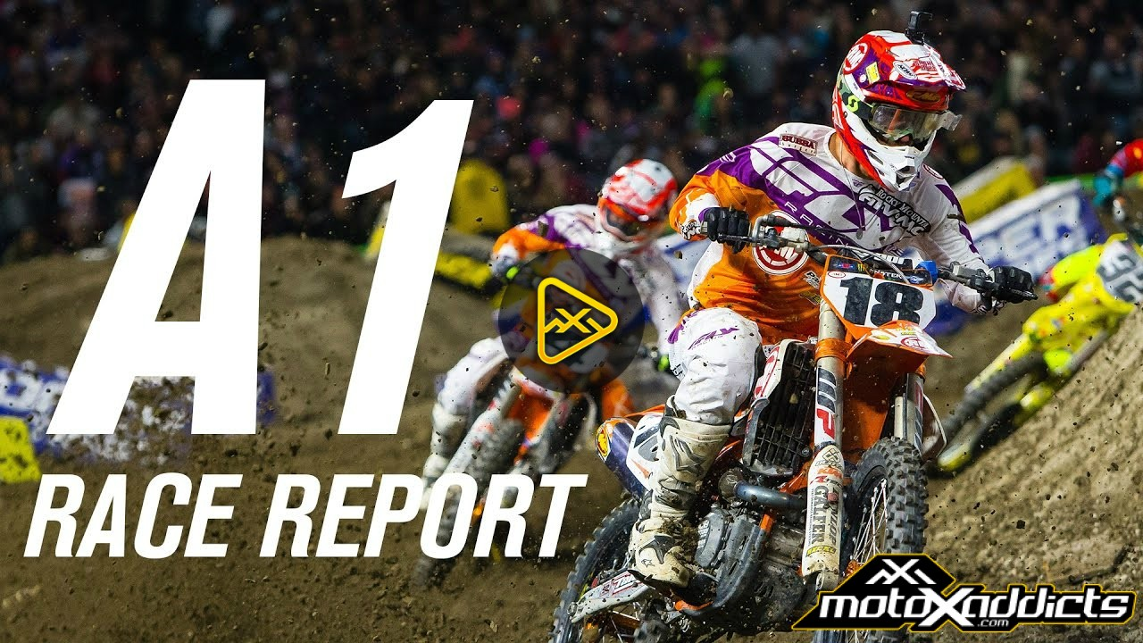 Rocky Mountain ATV MC  / KTM Anaheim 1 Video Report