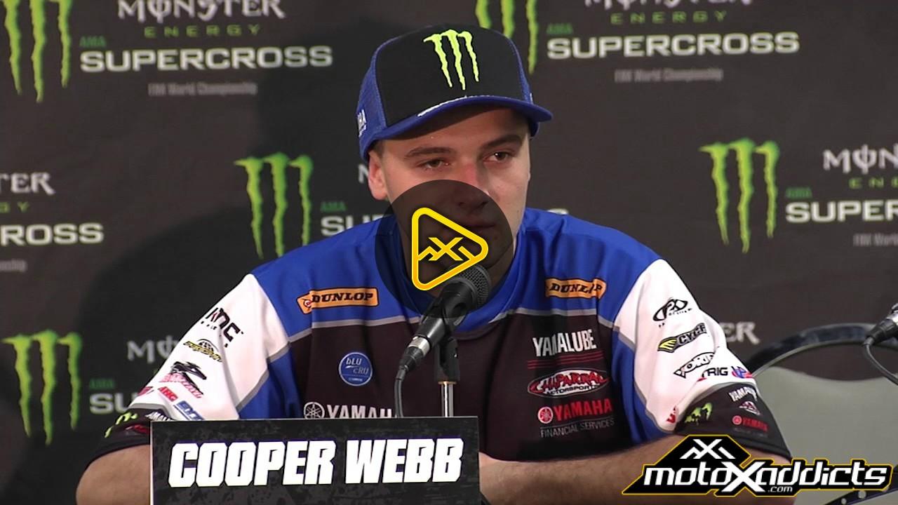Cooper Webb Interview – 2017 Anaheim 1 SX