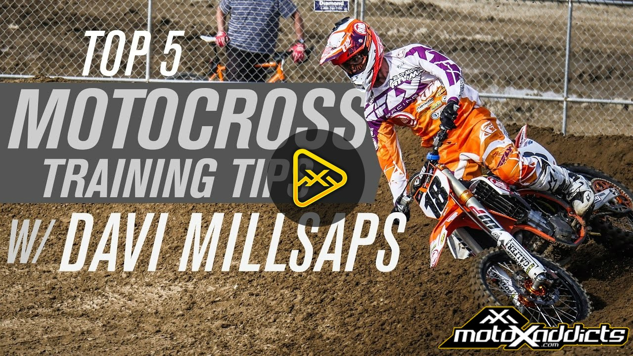 Top 5 Motocross Training Tips with Davi Millsaps