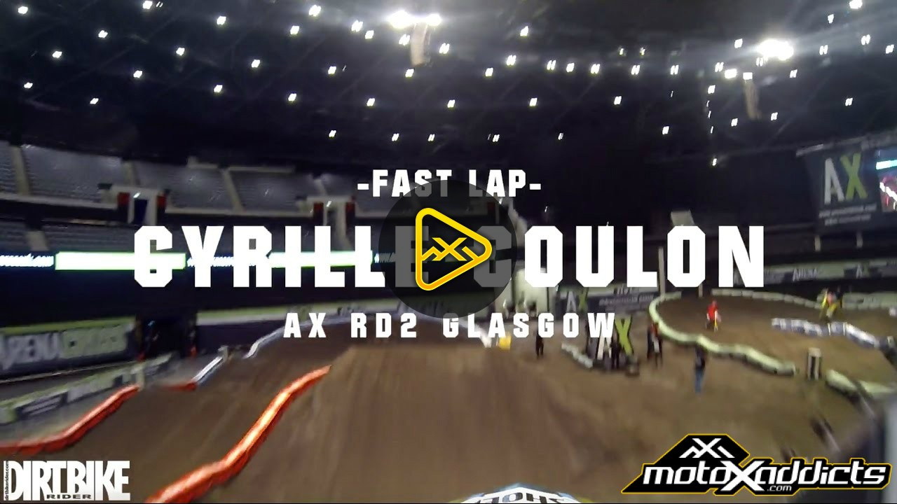 Helmet Cam: AX Glasgow Track – CYRILLE COULON