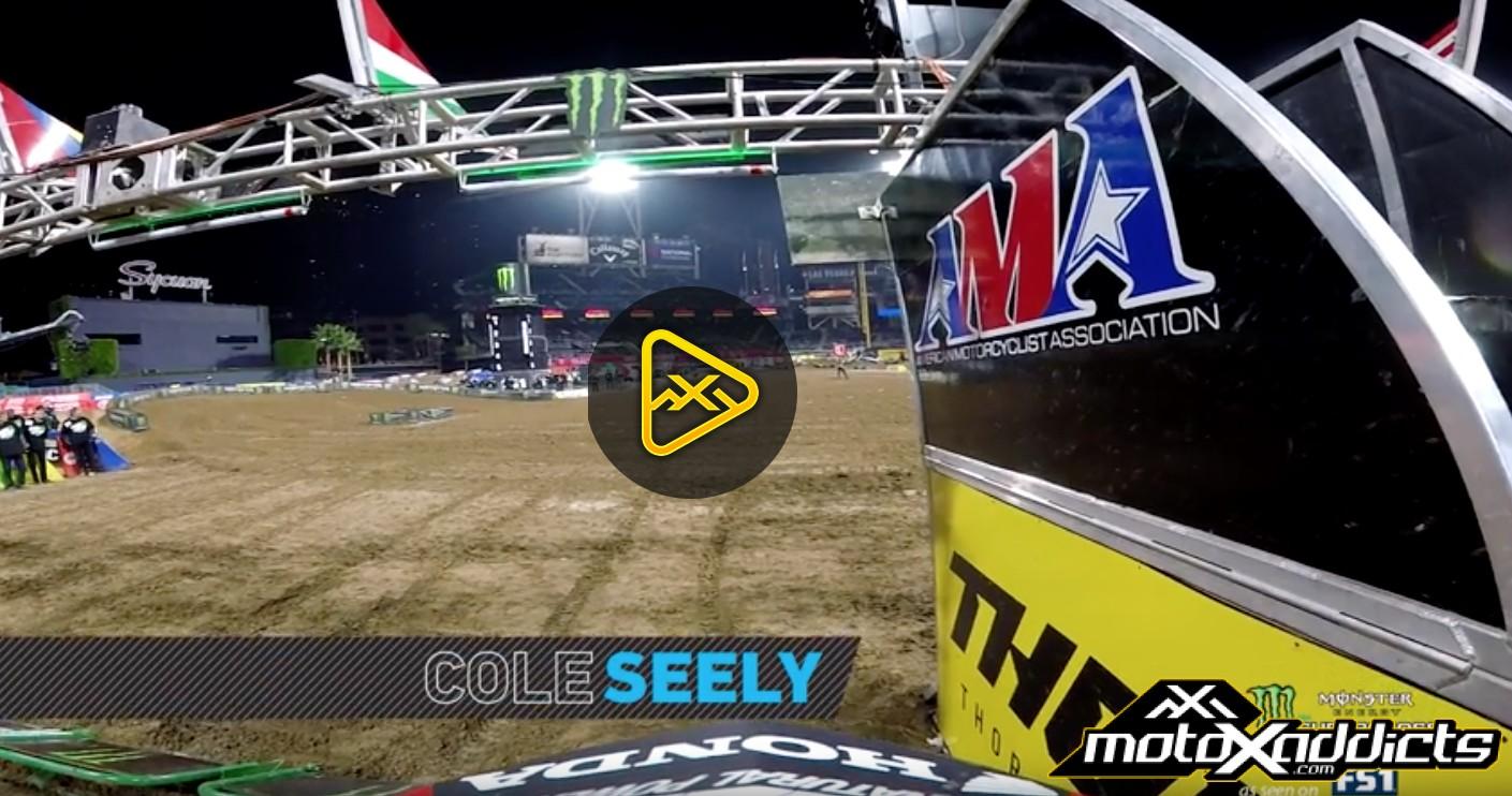 Helmet Cam: Cole Seely – 2017 San Diego SX Main Event