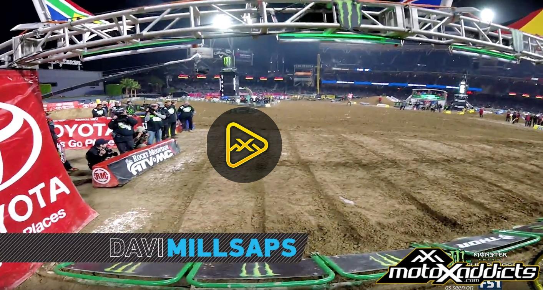 Helmet Cam: Davi Millsaps – 2017 San Diego SX Main Event