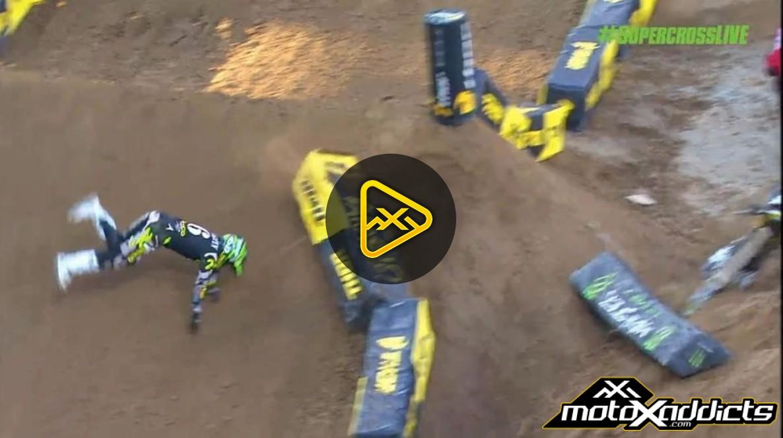 Jeremy Martin's Front Flip Crash – 2017 San Diego SX