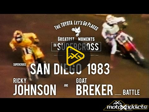 Flashback SX Battles – Johnson vs. Breker – 1983 Supercross