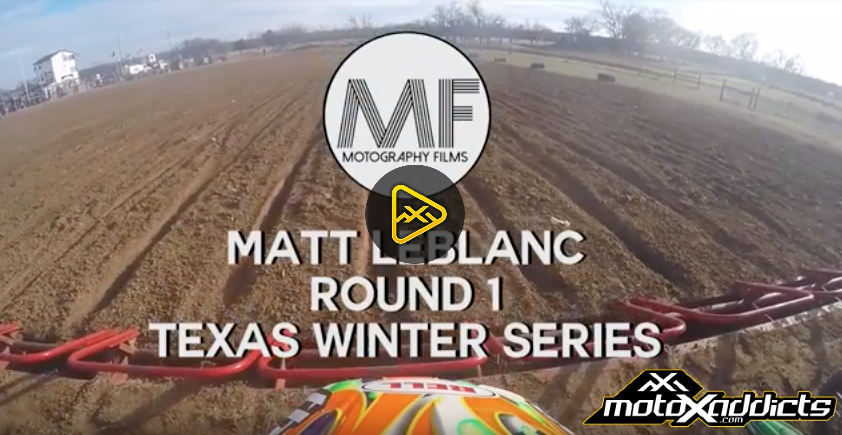 Helmet Cam: Matt Leblanc – Supermini 1 – Texas Winter Series