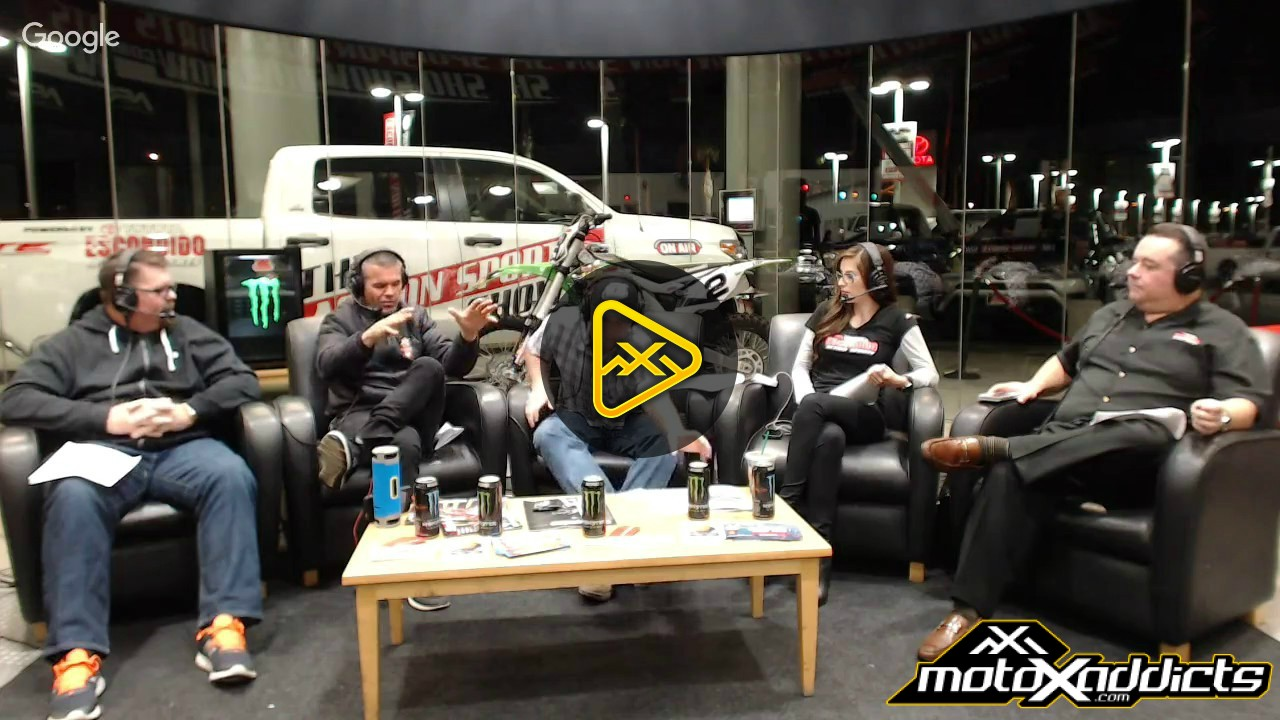 The Action Sports Show – Supercross Panel