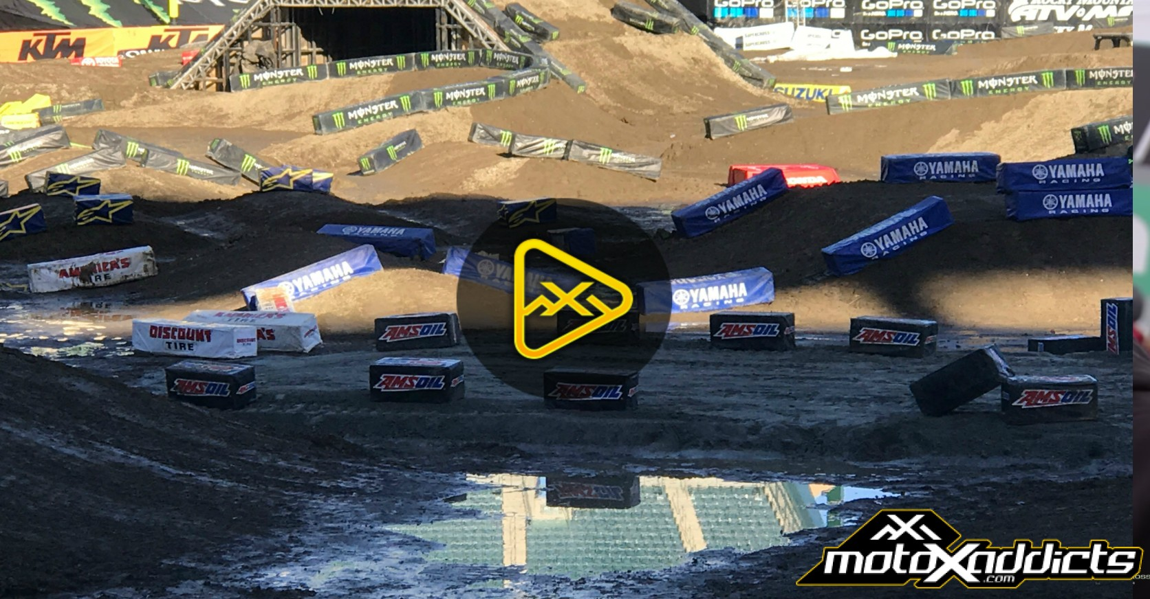 Track Conditions Report – 2017 Anaheim 2 SX