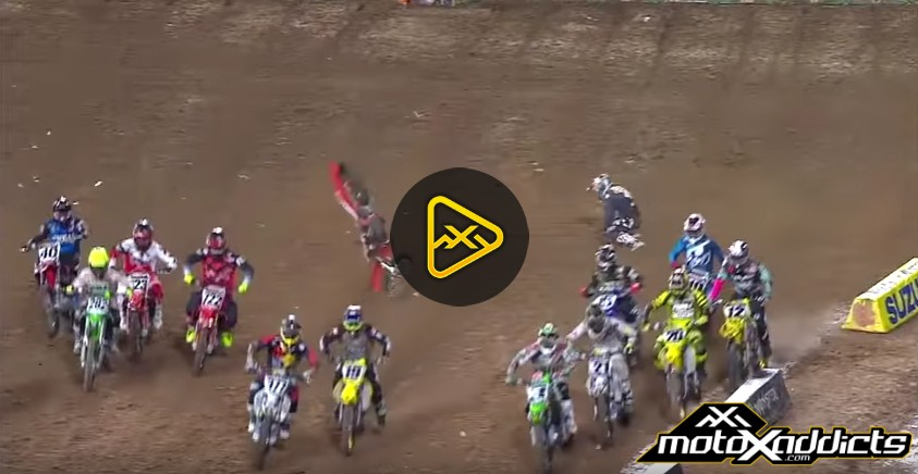 Blake Baggett's Loop Out Crash in San Diego
