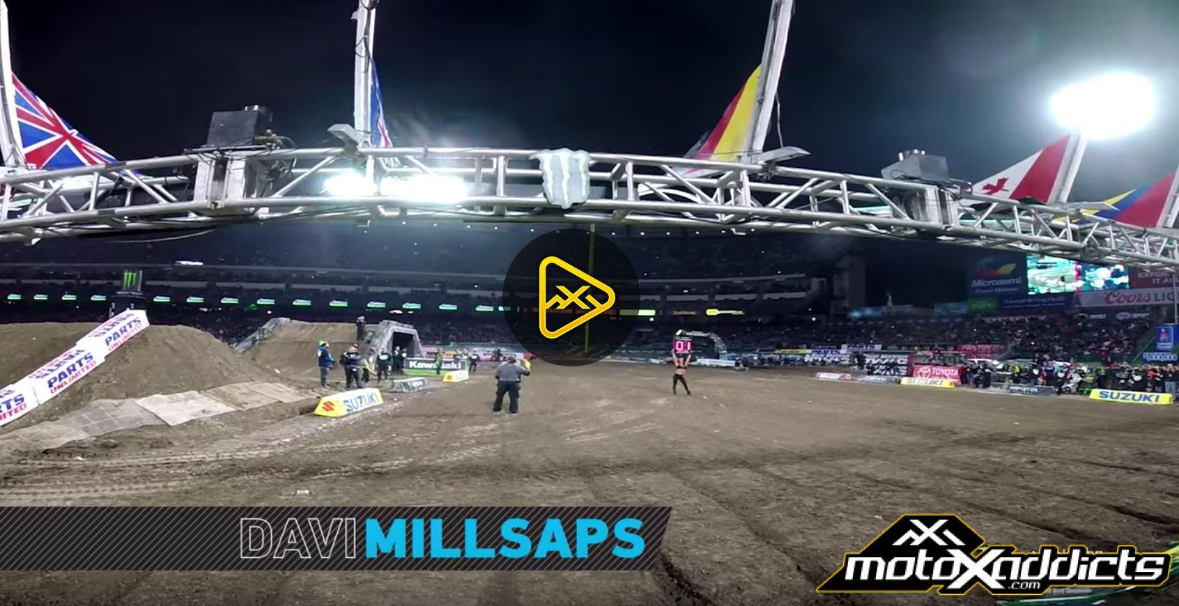 GoPro: Davi Millsaps – Main Event – 2017 Anaheim 2 SX