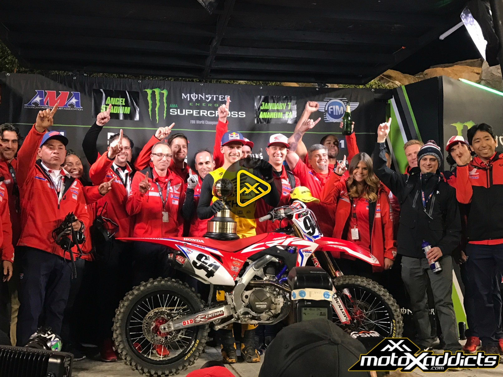 After the Checkered Flag – 2017 Anaheim 1 SX