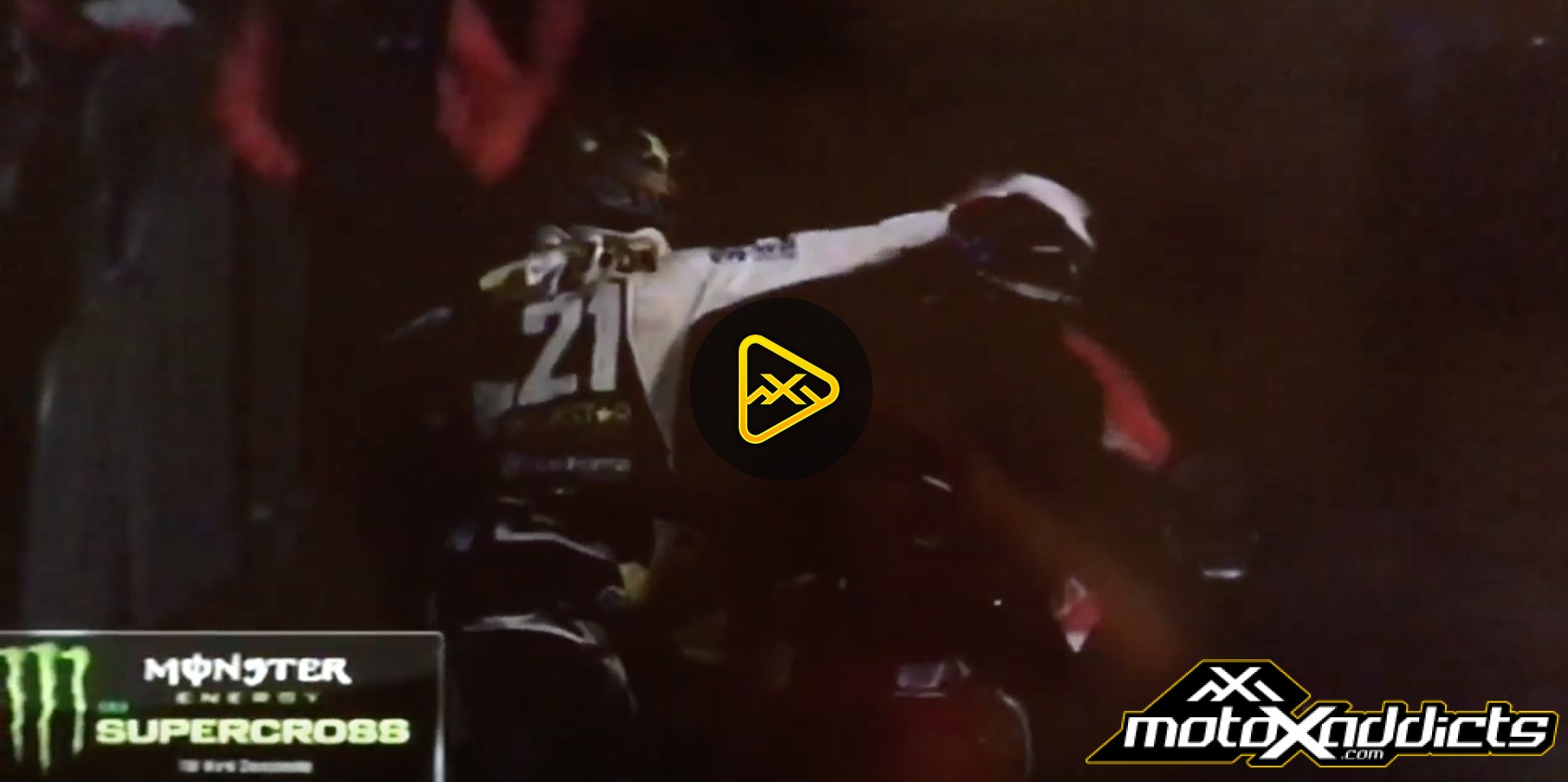 Jason Anderson Punches Vince Friese & Crashes – 2017 A2 SX