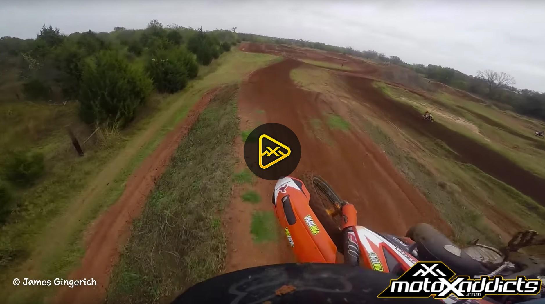 Helmet Cam: KTM 125 Pinned ft. Jesse Flock