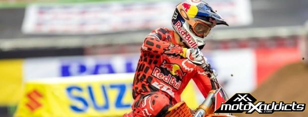 ryan dungey - supercross - sx- glendale - phoenix - results