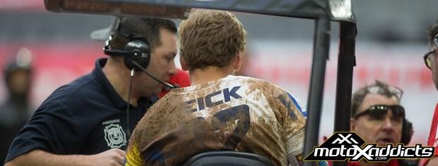 weston peick - supercross - injured - 2017 - sx