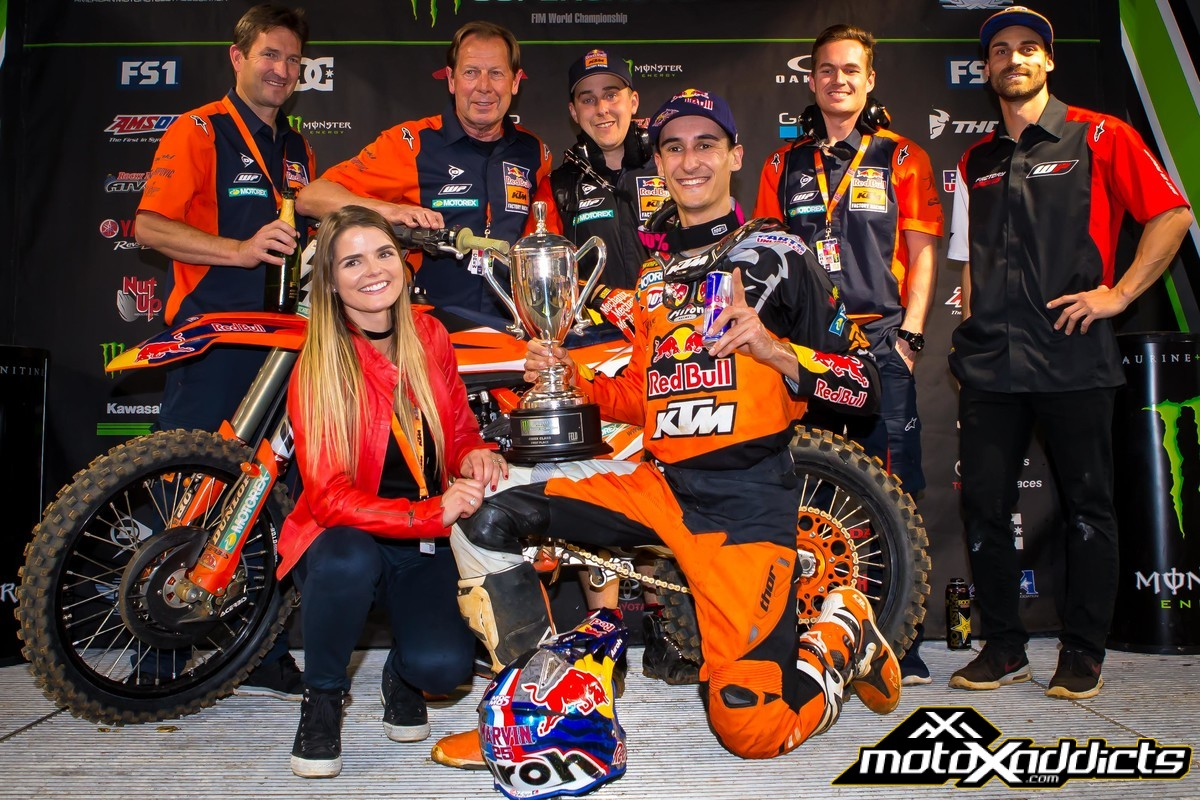 165413_Marvin Musquin _ Team KTM 450 SX-F Podium Arlington 2017