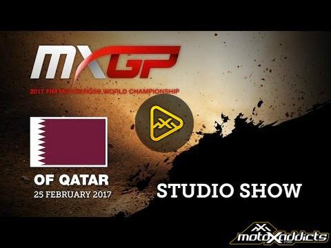 2017 MXGP of Qatar Studio Pre-Show