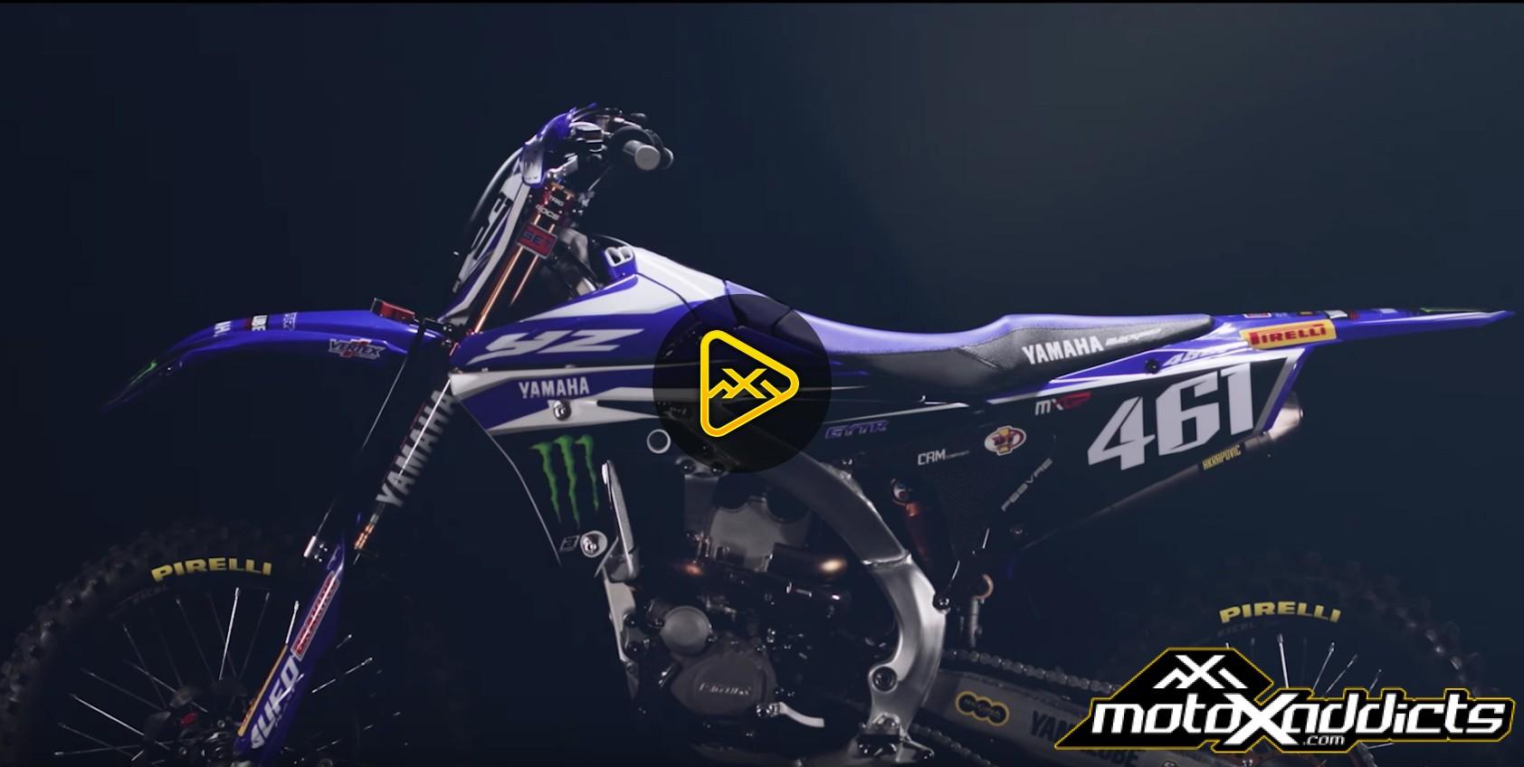 Monster Yamaha Factory MXGP Team's 2017 YZ450FM