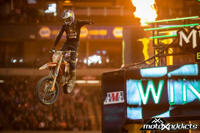 Dungey and Osborne Win Last SX Inside Georgia Dome