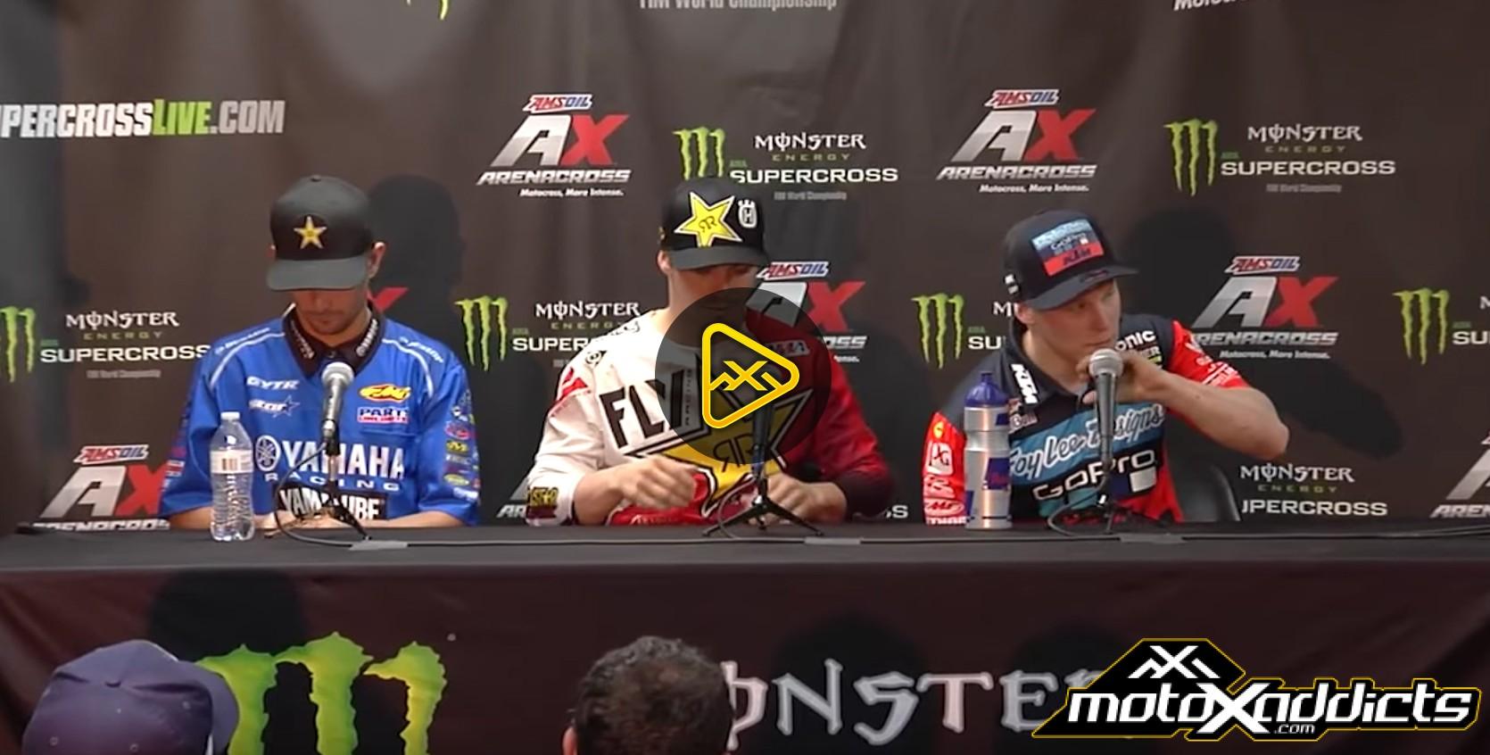 250SX Press Conference – 2017 Atlanta SX