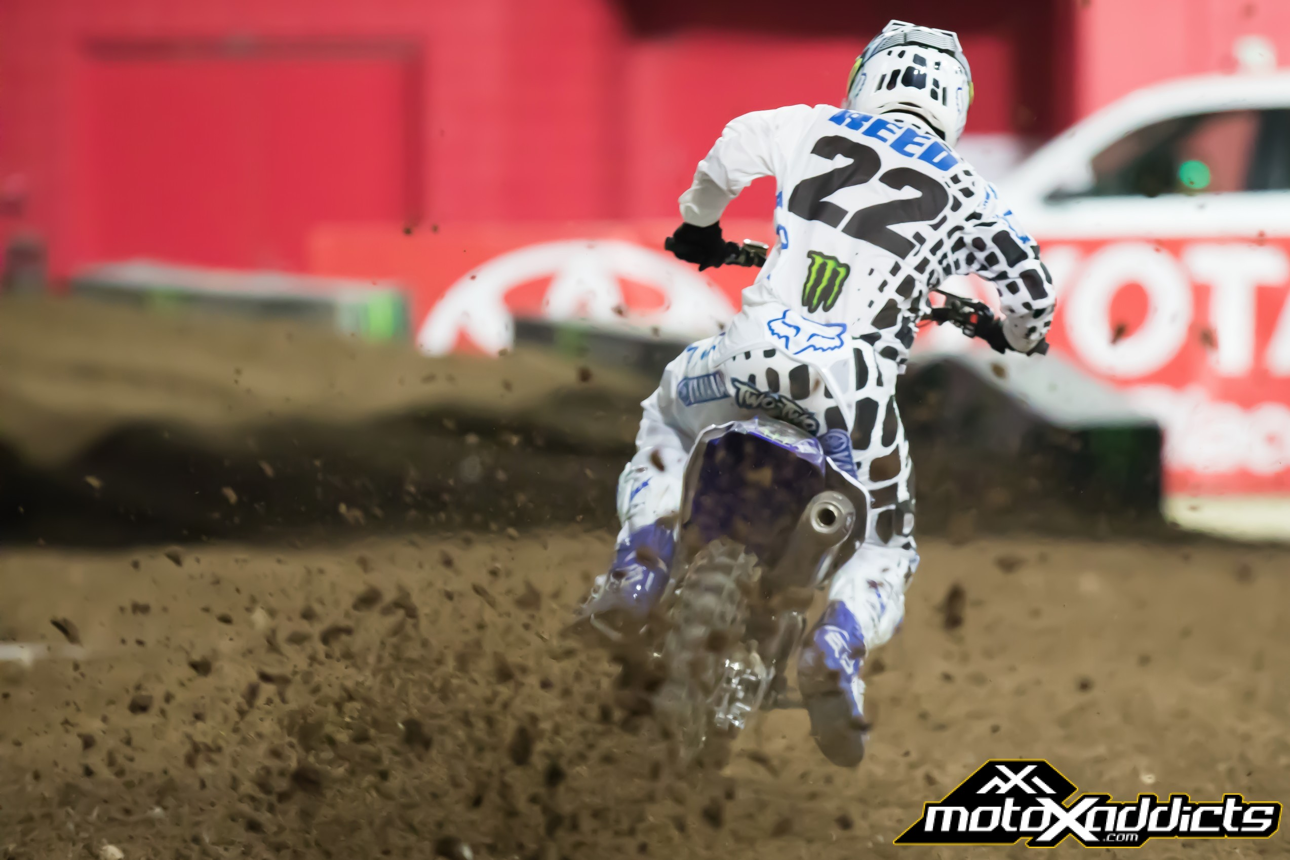 Chad Reed was on fire in Glendale.