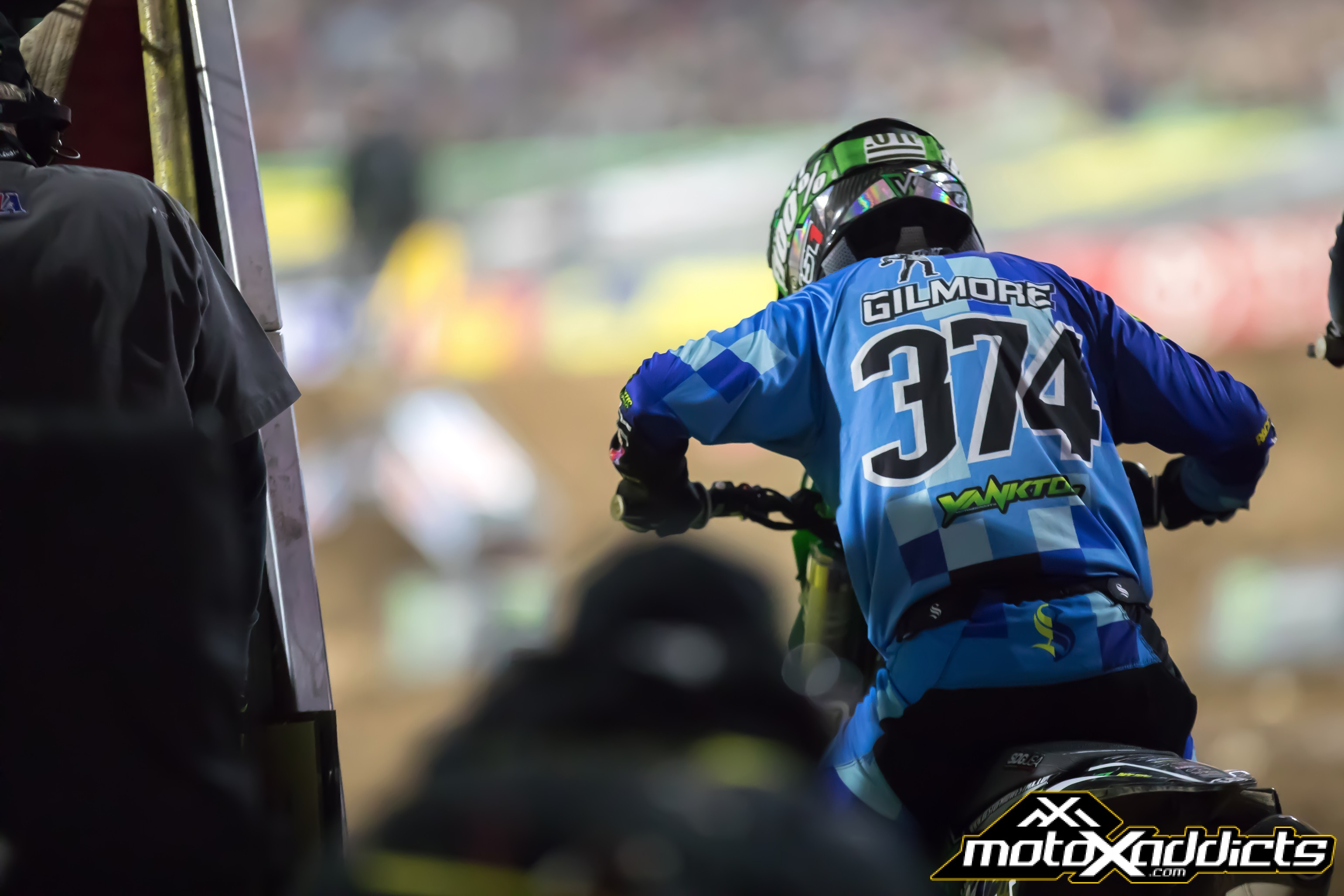 With SX being something Cody just does for the love of it now, it allows him to really take in the experience. Photo by: Chase Yocom