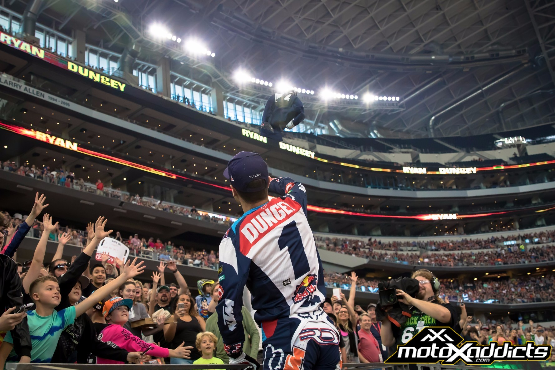 Ryan Dungey leads the 450SX Championship by 18 heading into his home race in Minneapolis. Photo by: Chase Yocom