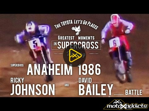 SX-Anaheim-1986-Ricky-Johnson-and-David-Bailey-battle