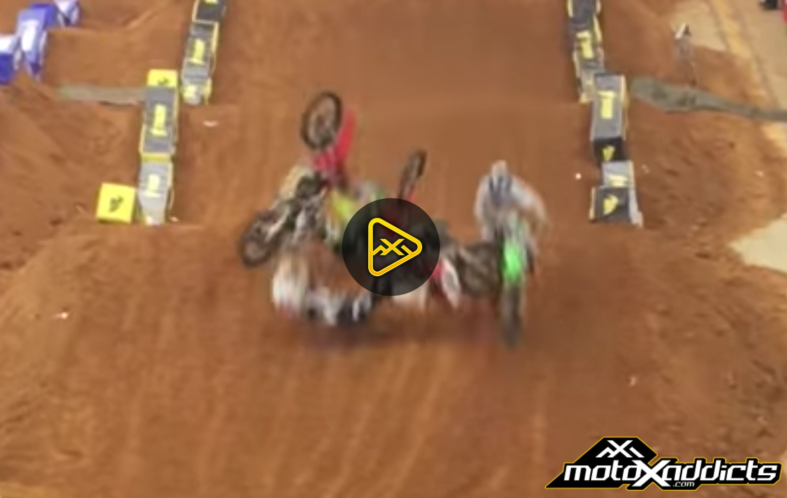 Colton Aeck Landed on at 2017 Arlington SX