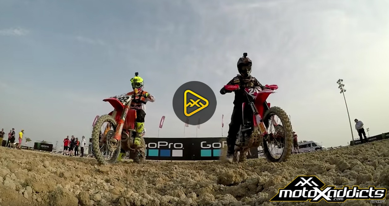 GoPro Lap with Tony Cairoli and Tim Gasjer – 2017 MXGP Qatar
