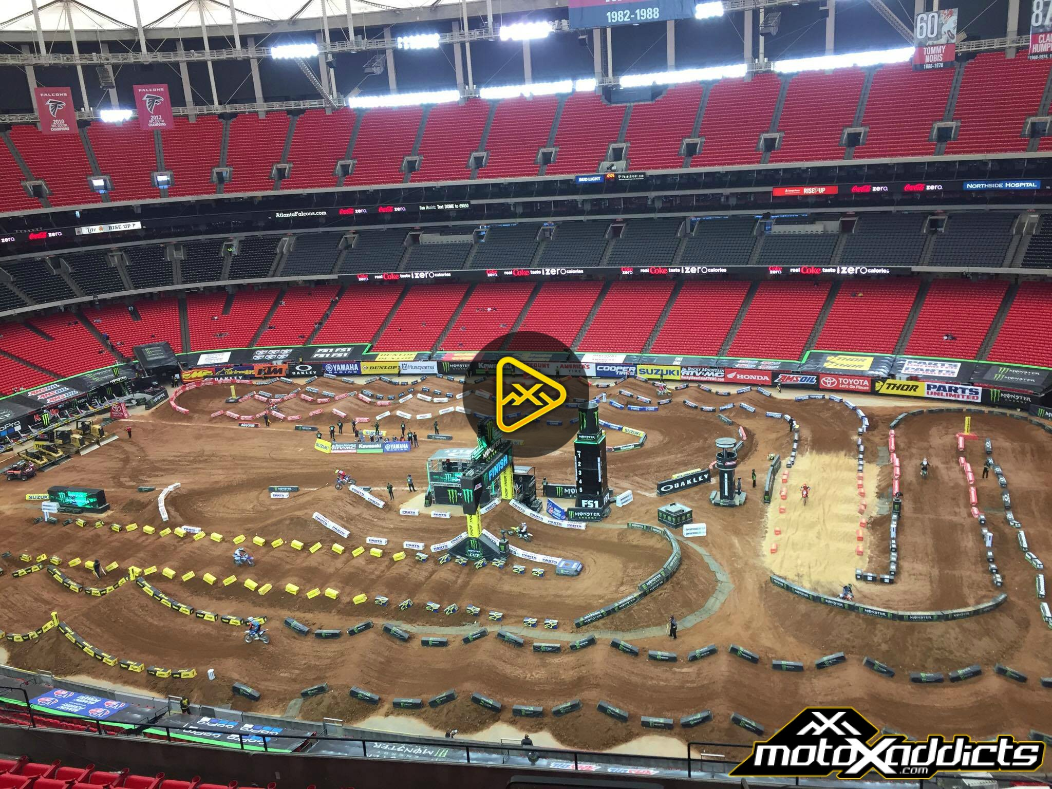 2017 Atlanta SX Track Feature