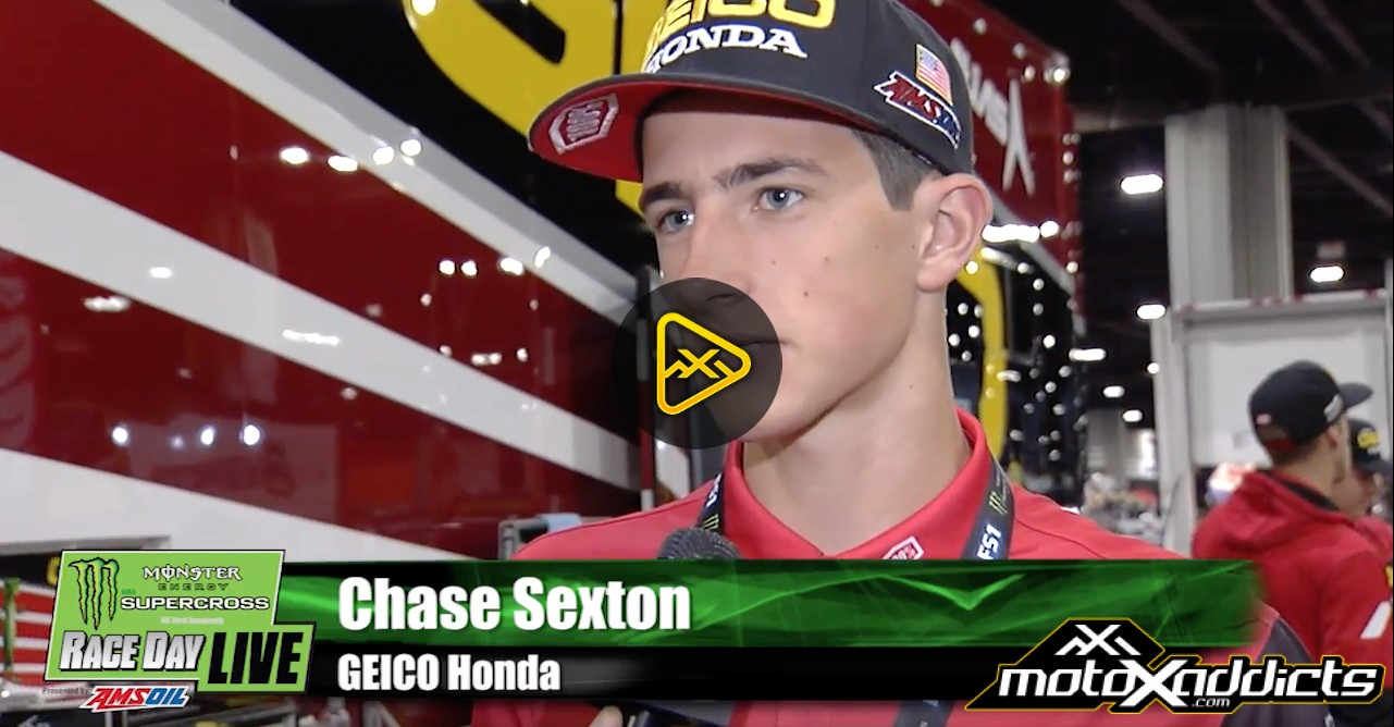 Chase Sexton Interview – 2017 Atlanta SX