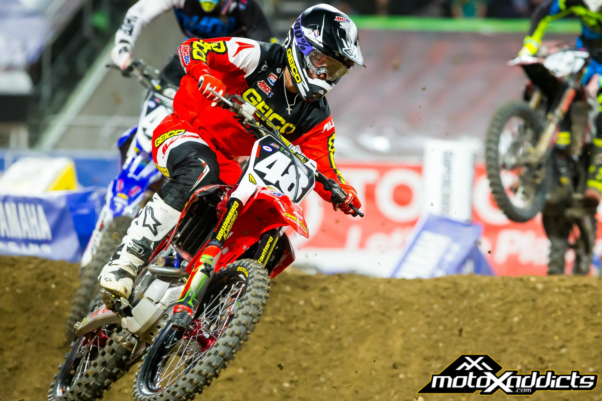 Hampshire's Fourth Leads GEICO Honda in 250SX East Kickoff